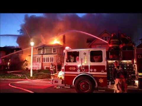Oak park, IL 3rd alarm fire
