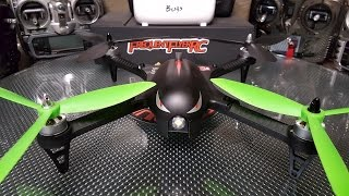 MJX Bugs 3 brushless quad with 3 bladed props + H501S props! all tests on 3S 1300mah Tattu
