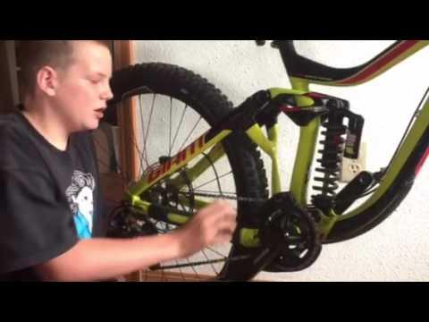 615bc297f14 New bike review giant glory 27.5 - YouTube