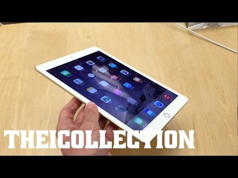Prise en main iPad Air 2 (en Apple Store)