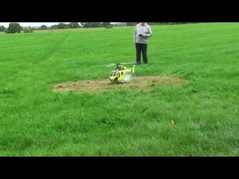 YORKSHIRE AIR AMBULANCE MODEL TEST FLIGHT