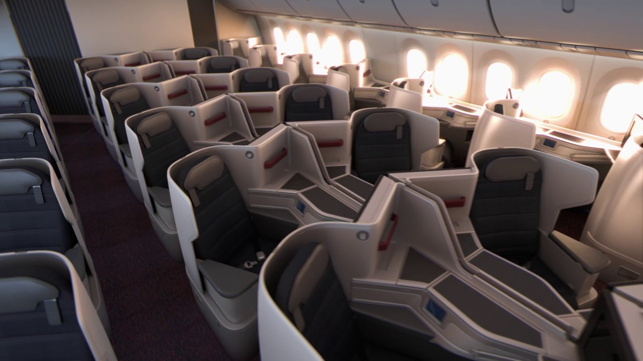Aeromexico Boeing 787-9 Dreamliner Interior - YouTube