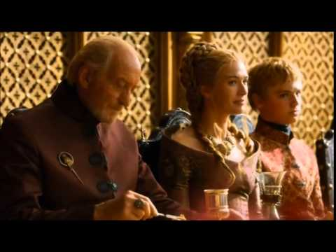 The Purple Wedding.Game Of Thrones King Joffrey S Death Poisoned At His Wedding Bonus Scene The Purple Wedding
