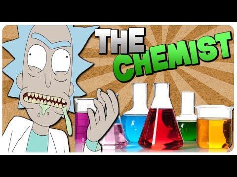 A MAD SCIENTIST n