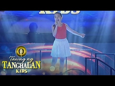 Tawag ng Tanghalan Kids: Sheenna Belarmino | I Am Changing