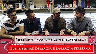 Riflessioni Sui Tutorial E La Magia Italiana   Antonio,Gabriele, Saykon, Diego Allegri