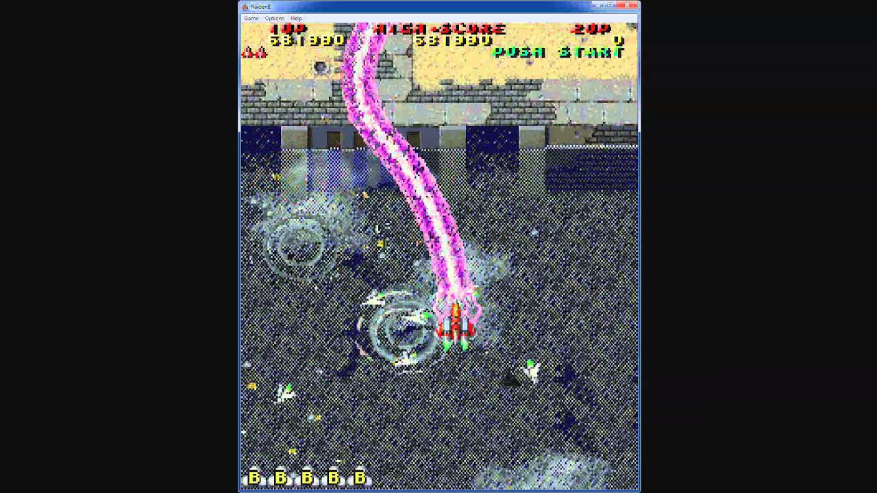 1993 Raiden 2 II PC Old School Game Playthrough Retro game ...