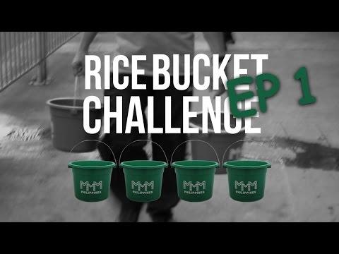 Community in Action   Rice Bucket Challenge ep1
