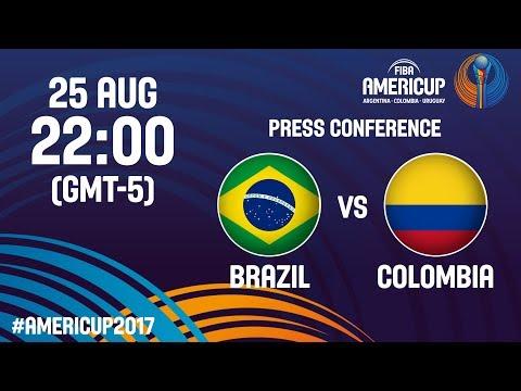 Brazil v Colombia - Press Conference - FIBA AmeriCup 2017