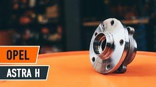 Hvordan bytte bakre hjullager på OPEL ASTRA H [BRUKSANVISNING]