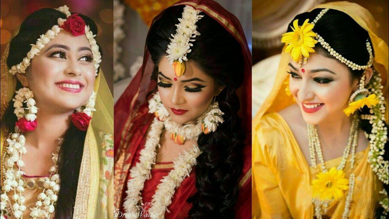 Mehendi Ceremony Look : Latest mayo jewellery ideas for brides 2017 bridal look