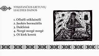 Nykstančių lietuvių liaudies dainų rinkinys II (Underground Lithuanian folk songs)