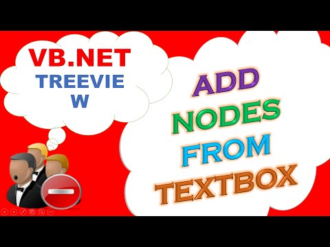 VB.NET TreeView -  Add Nodes Dynamically From TextBox