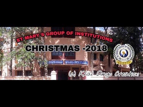 St Mary's Institute Of Nursing & Mary Matha School Of Nursing Banglore Christmas 2018