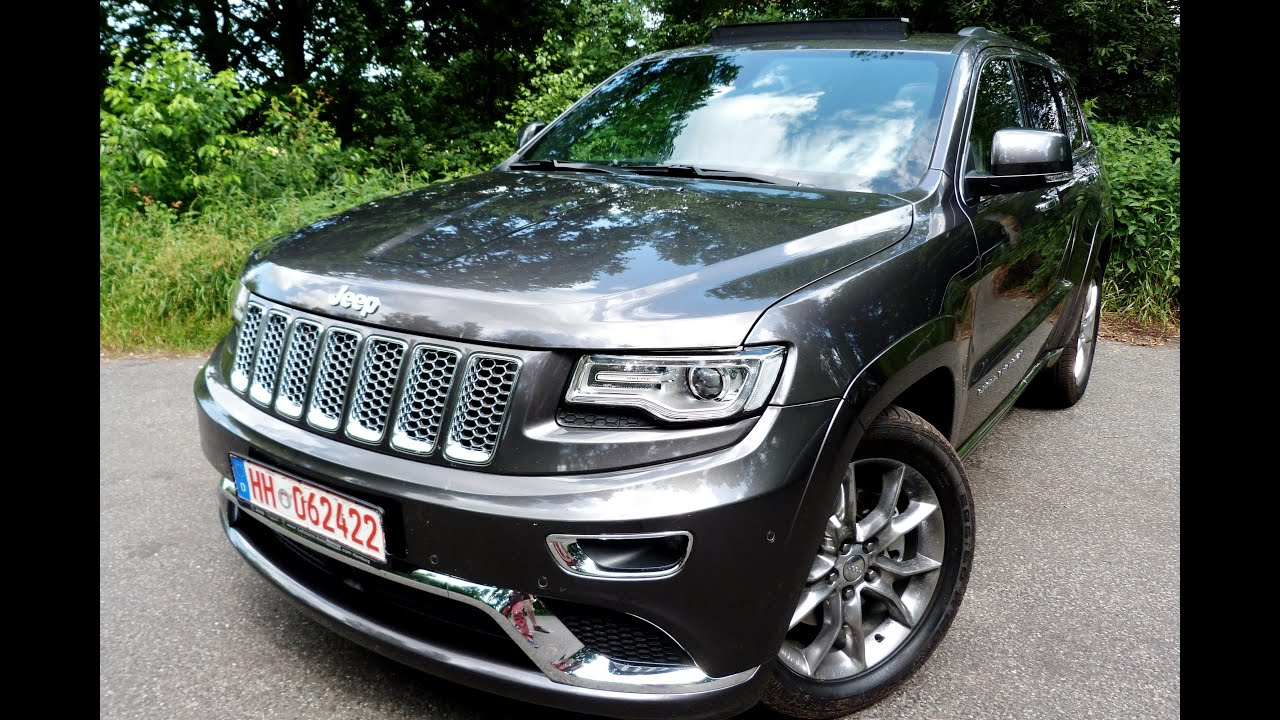 Testbericht JEEP Grand Cherokee [2014]   NEU Road Test Video Review    EngineReport   YouTube