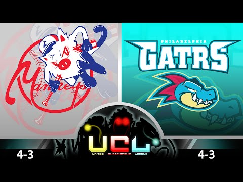 Pokemon Wifi Battle UCL - ShadyPenguinn's New York Mankeys Vs Philadelphia Feraligatrs!