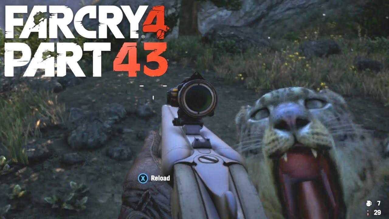 Shadow Leapord Hunting Far Cry 4 Gameplay Walkthrough Part 43