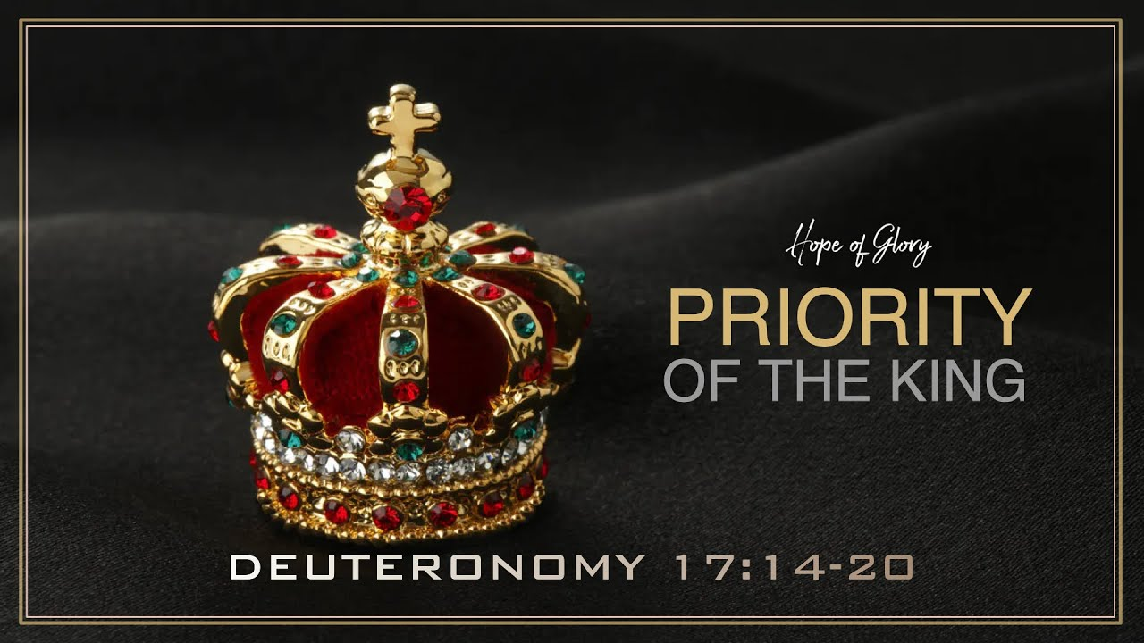 PRIORITY OF THE KING