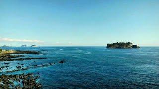 [1분풍경] 서귀포 법환앞바다, 범섬, 문섬, 섶섬, …