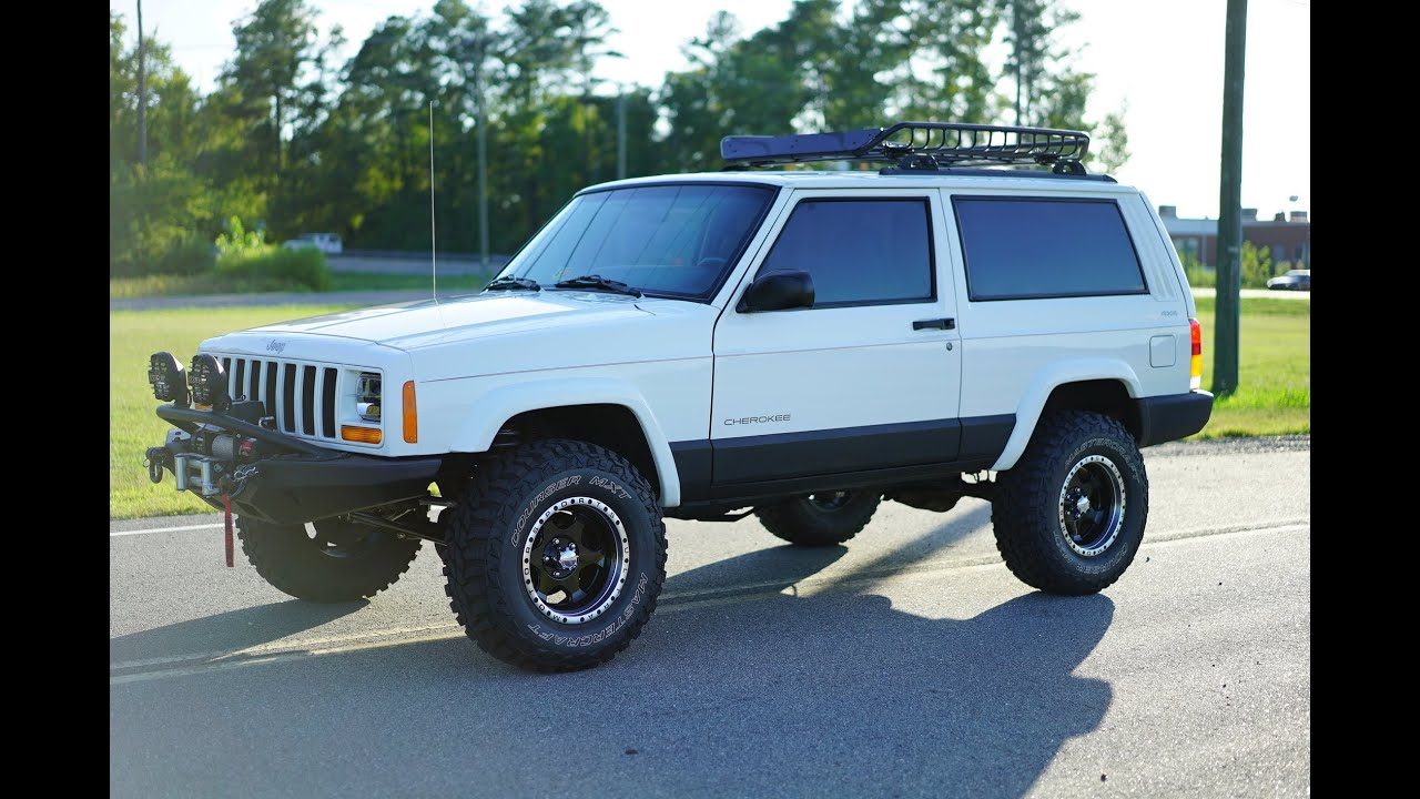 Davis AutoSports JEEP CHEROKEE SPORT XJ LIFTED FOR SALE - YouTube