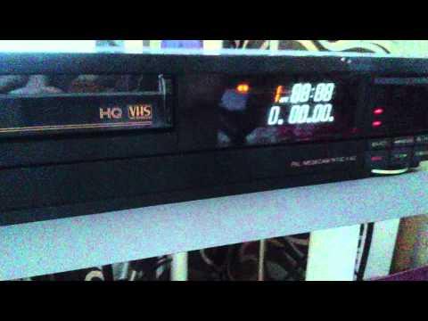 Fisher Videocassette Recorder FVH-U908