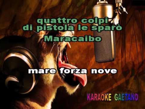Lou Colombo Maracaibo Con cori Karaoke
