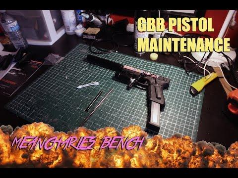 GBB Pistol Maintenance (How to change Inner barrel On a WE G17/18c Glock)