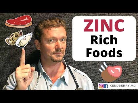 7 ZINC Rich Foods (Bio-Available Zinc) 2020