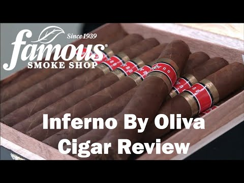 Inferno by Oliva Cigars Review - Famous Smoke Shop