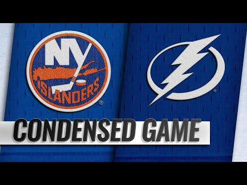 11/08/18 Condensed Game: Islanders @ Lightning