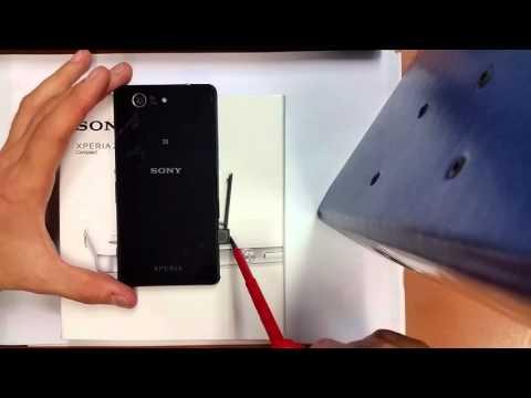 Sony Z3 Compact Nano-SIM Slot Card