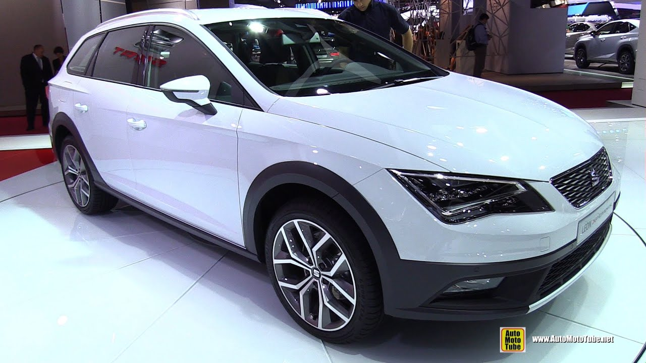 2015 seat leon x perience 4drive exterior and interior walkaround 2014 paris auto show youtube. Black Bedroom Furniture Sets. Home Design Ideas