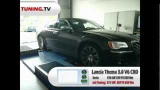 TUNING.TV: Leistungsmessung Lancia Thema (Chrysler 300C) 3.0 V6 CRD mit SPEED-BUSTER Tuningbox