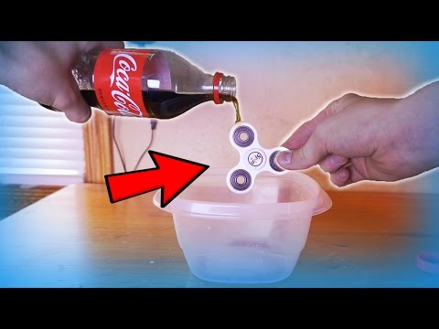 HOW TO MAKE YOUR FIDGET SPINNER FASTER !! *NEW* Best Method!!