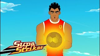 S3E10 Dribbler on the Roof | SupaStrikas Soccer kids cartoons | Soccer and football animation kids