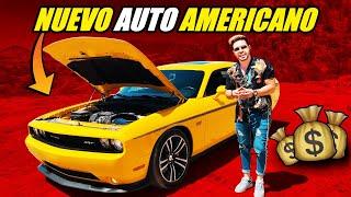 VOY A COMPRAR NUEVO AUTO AMERICANO 🏎️ DODGE CHALLENGER SRT 🔥 MUSCLE CAR 😍