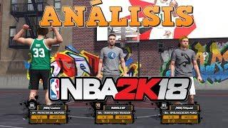 ANÁLISIS INICIAL DE NBA2K18