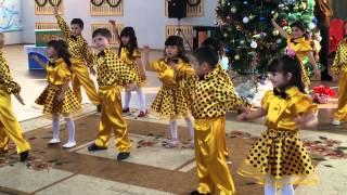 Детский танец на новый год