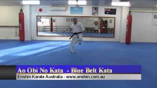 Ao Obi No Kata - Blue Belt Kata