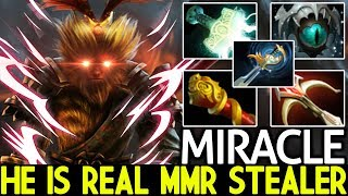 Miracle- [Monkey King] He is Real MMR Stealer Right Click Build 7.21 Dota 2