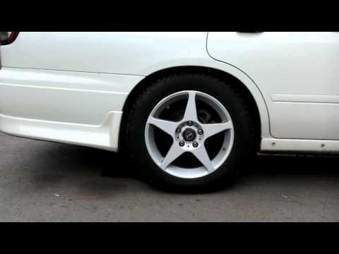 Задняя пневма Nissan Avenir