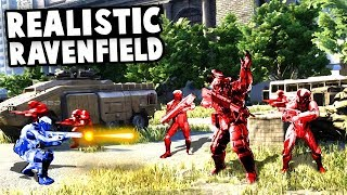 REALISTIC RAVENFIELD! Epic Military Units and Army Battles! (Eximius: Seize the Frontline Gameplay)