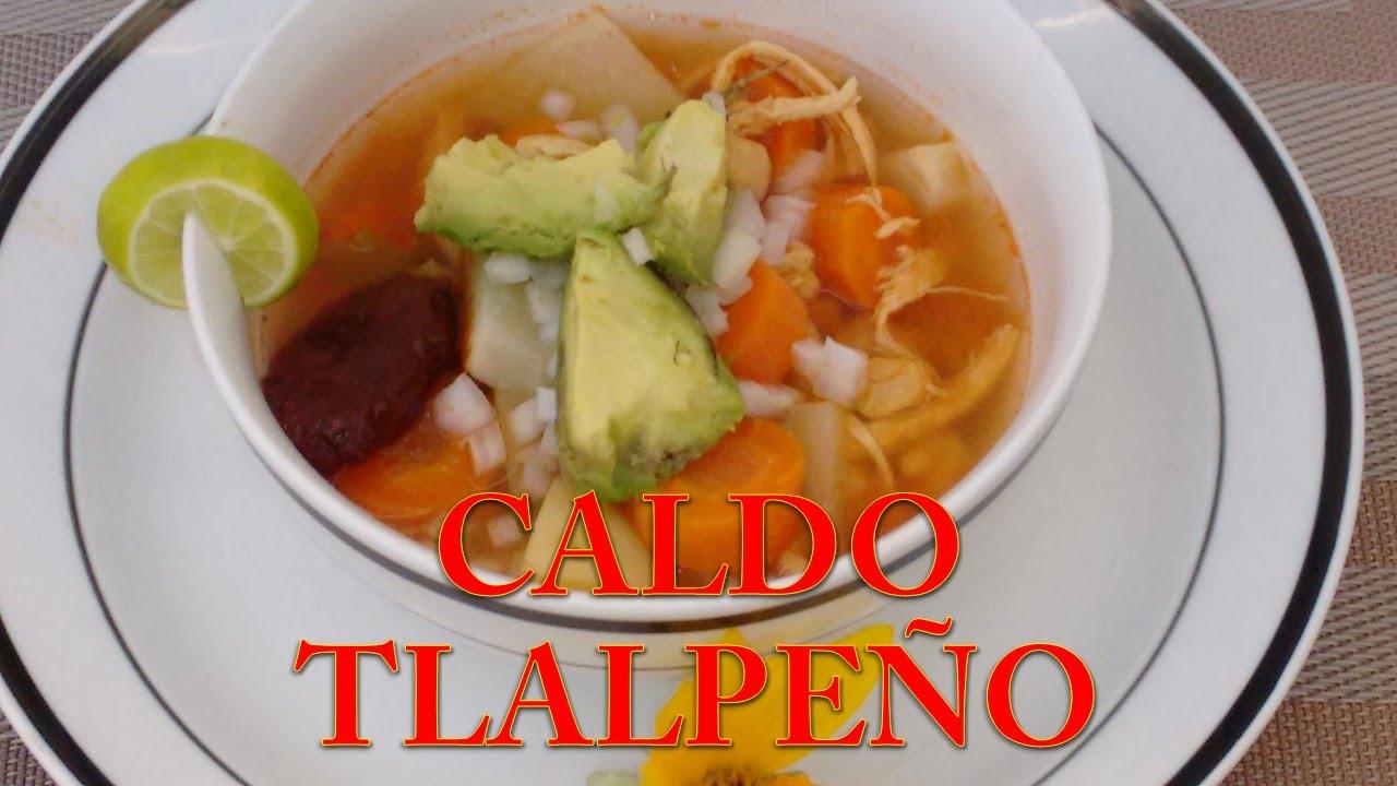 Como hacer caldo tlalpe o receta facil cocina tradicional for Canal cocina mexicana