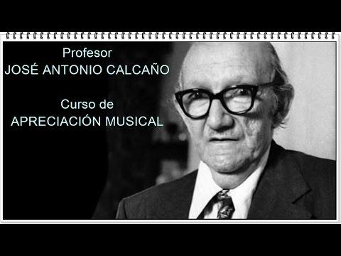 Recordando al Profesor JOSÉ ANTONIO CALCAÑO