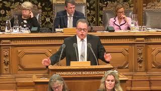 """Dennis Gladiator (CDU): """"Der Senat ist auf dem linken Auge blind"""" Video"""