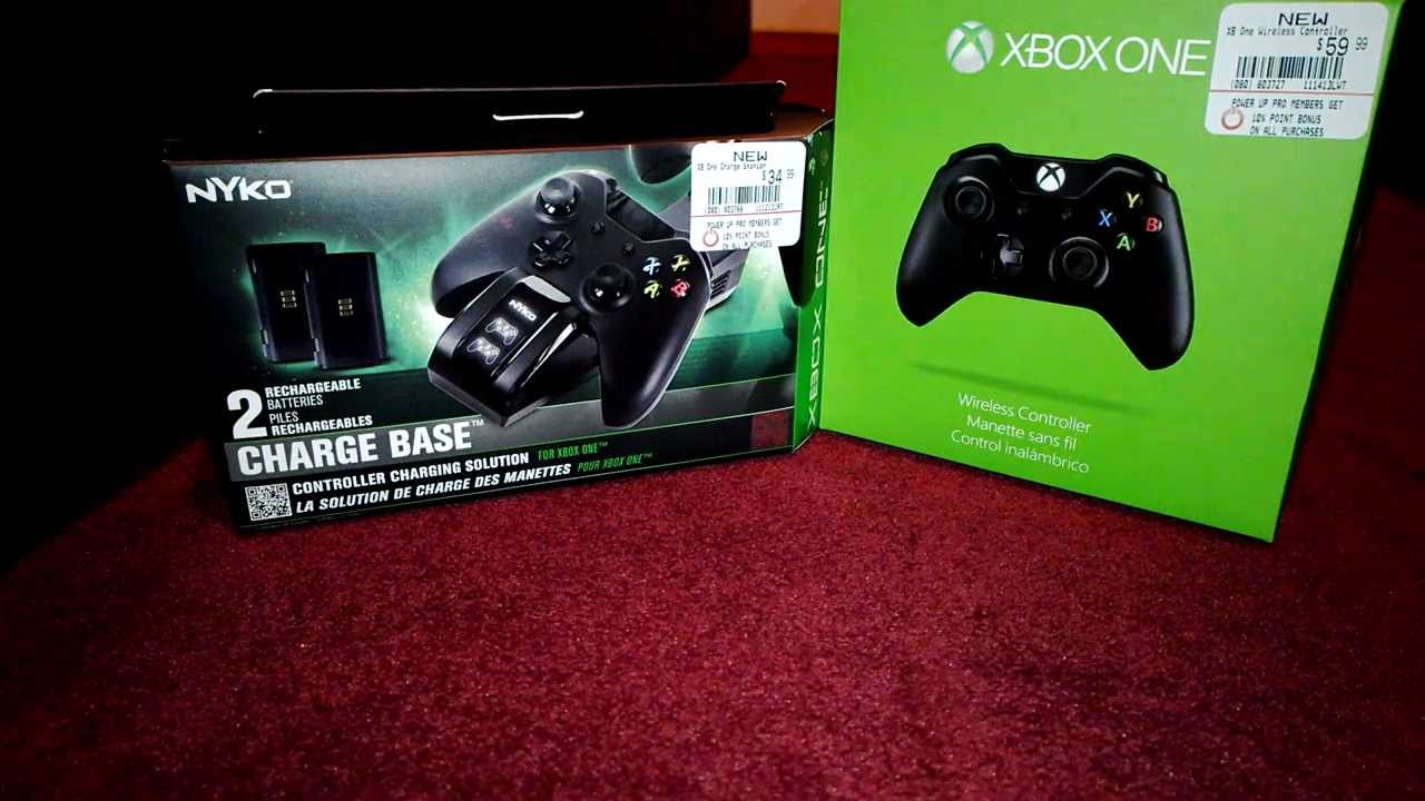 nyko xbox one charger how to use