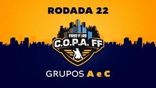 C.O.P.A. FF - Rodada 22 - Grupos A e C