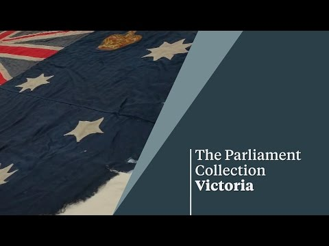 Victorian Naval Ensign - The Parliament Collection Victoria