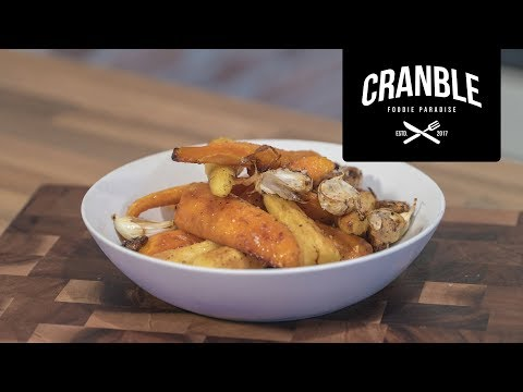 Cranble | Honey Roasted Parsnips And Carrots