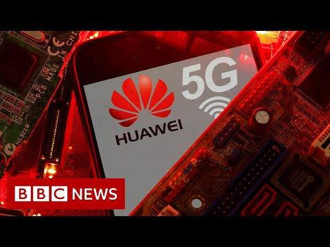 Huawei 5G kit must be removed from UK by 2027 - BBC News